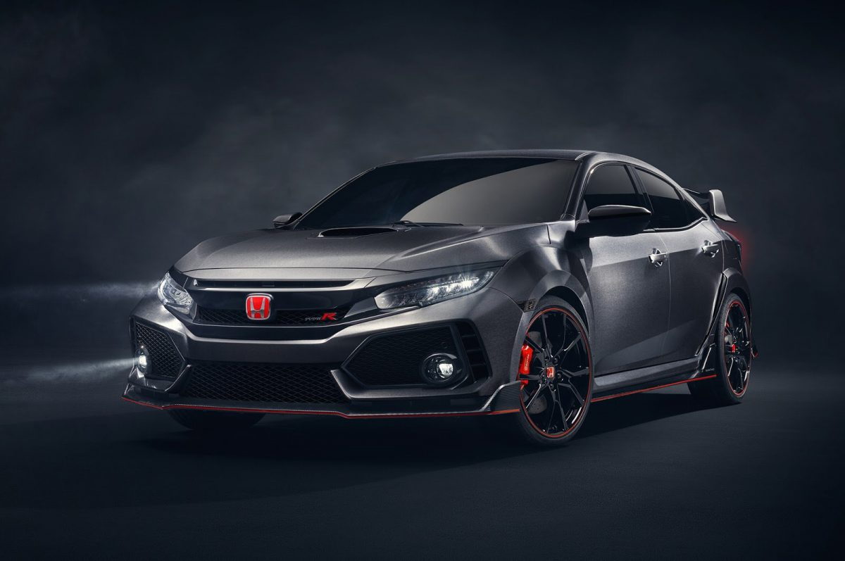 Новая версия Honda Civic Type-R выйдет в 2017 году