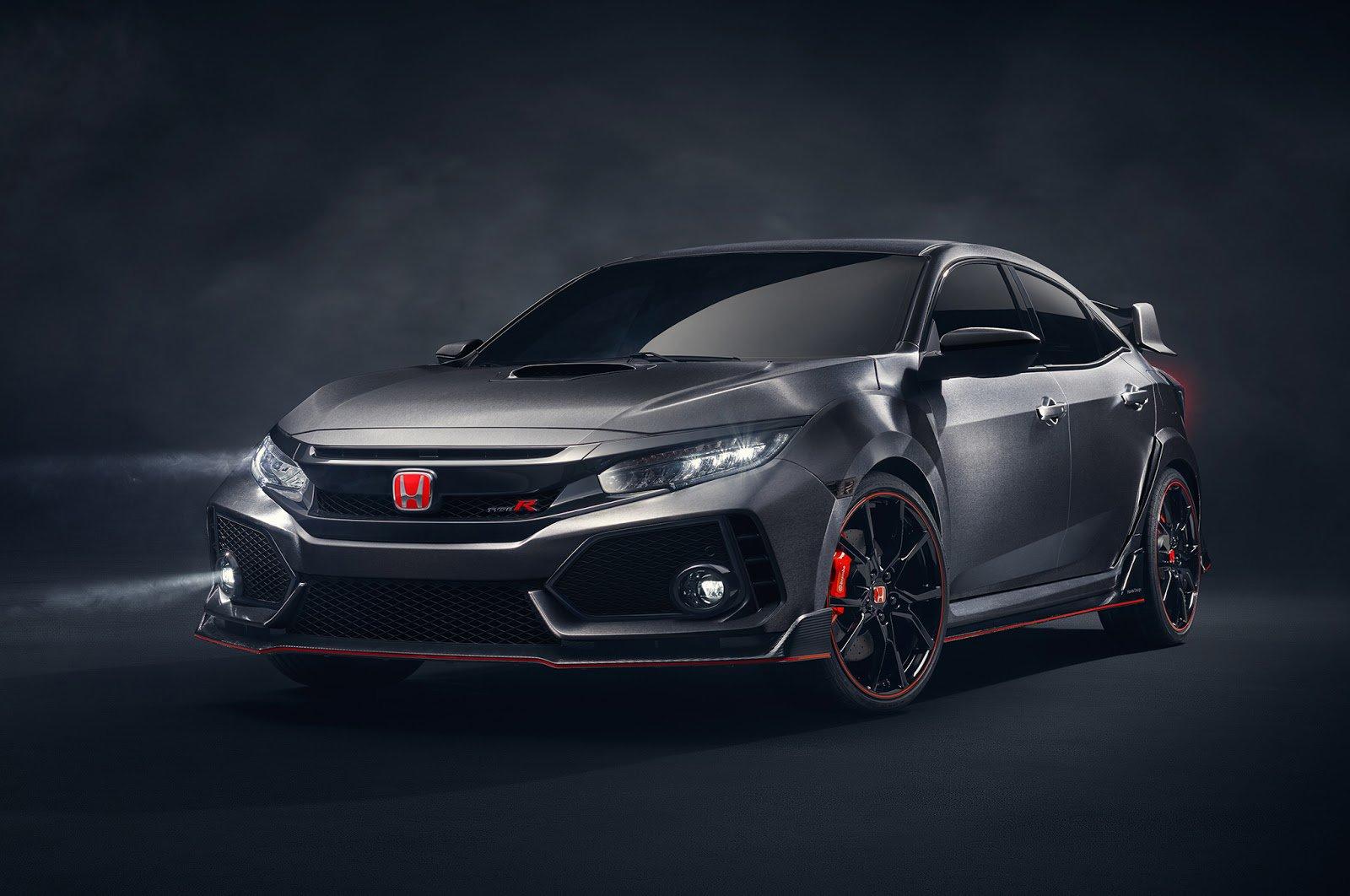 Новая версия Honda Civic Type-R выйдет в 2017 году