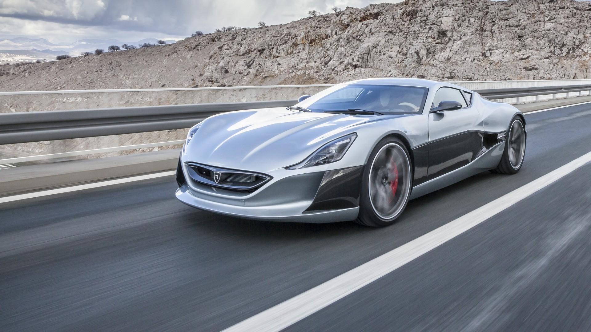 Хорватский электрический концепт-кар превосходит по динамике Bugatti Veyron