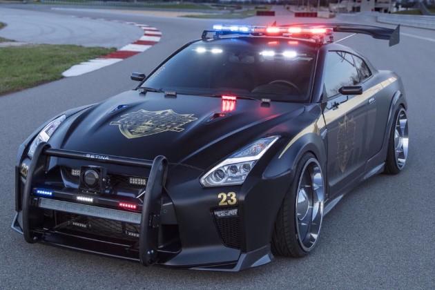 Форсированные версии известных машин на службе у полиции